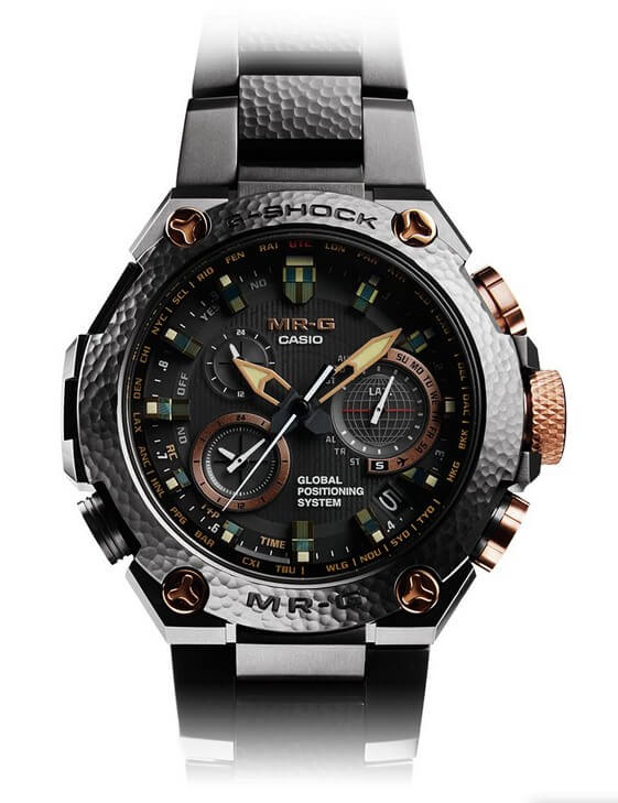 Chiếc đồng hồ G-Shock MRG-G1000HT Hammer Tone MR-G Xem 20 kỷ niệm