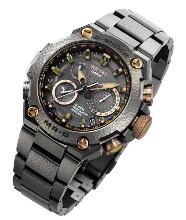 G-Shock MRG-G1000HT Hammer Tone MR-G 20th Anniversary Watch