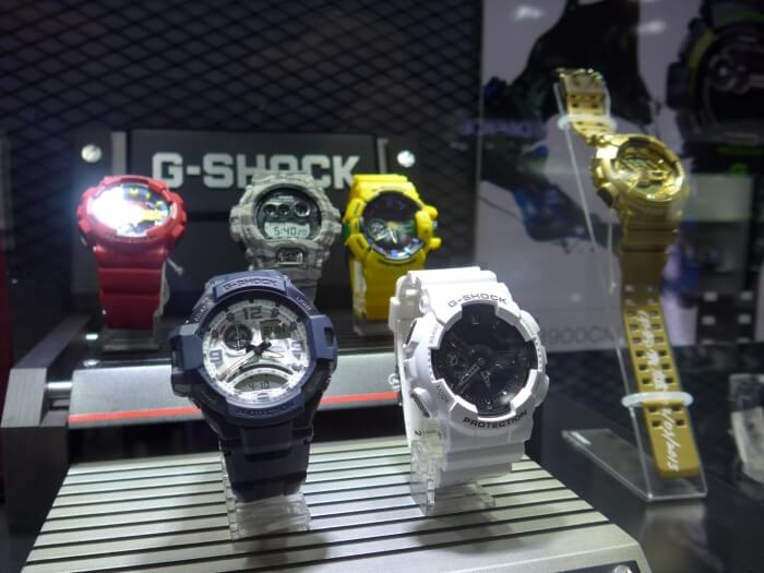 Casio G-Shock Watches Signed By Kikuo Ibe For Sale at G-Factory Cambodia