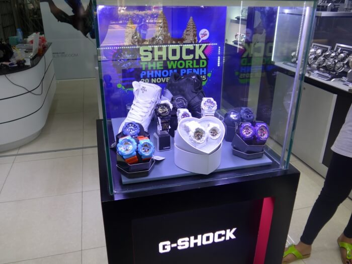 G-Shock Shock The World Phnom Penh Cambodia