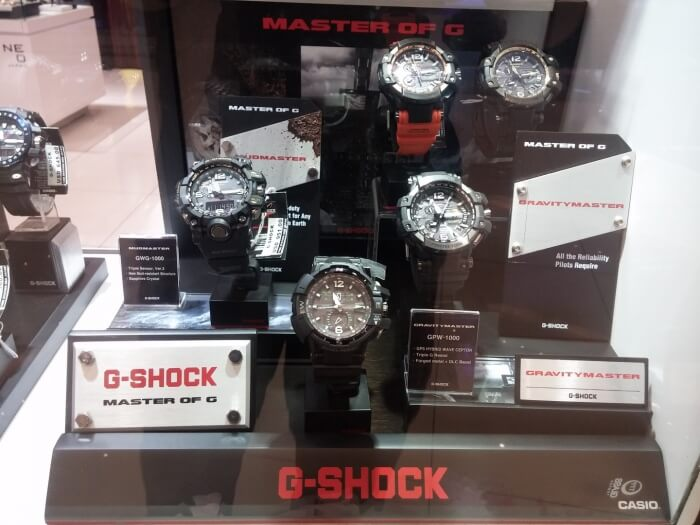 Time Station Neo Japan Casio G-Shock Mudmaster Watches