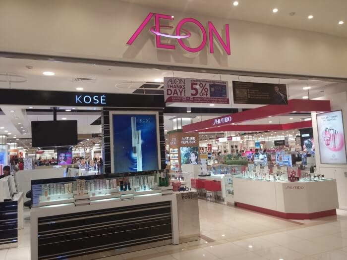 Aeon Mall Department Store in Phnom Penh