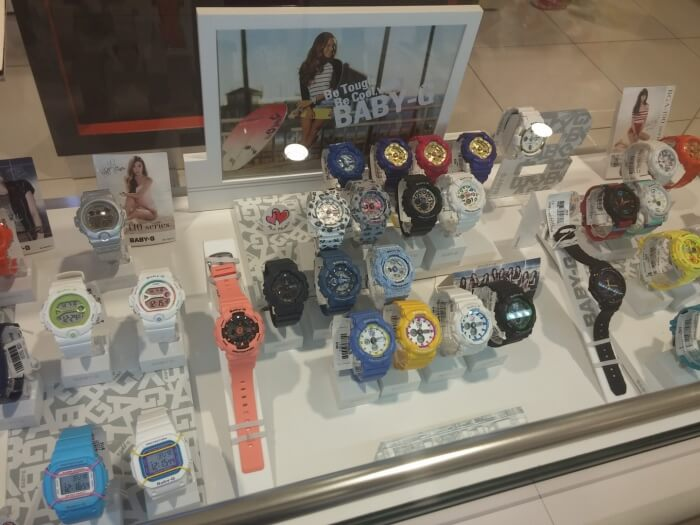 Casio Baby-G at Aeon Mall Phnom Penh