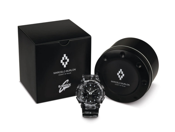 G-Shock x Marcelo Burlon County of Milan 2016 GA100MRB-1A Watch