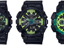G-Shock Sporty Illumi Series GA100LY-1A GA110LY-1A GA400LY-1A