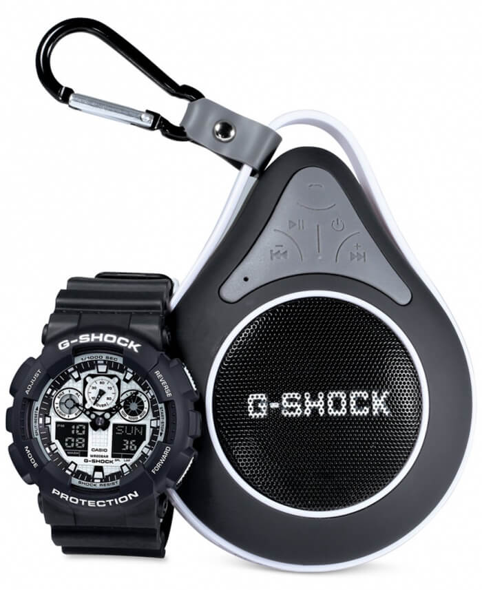 G-Shock Bluetooth Speaker Box Set