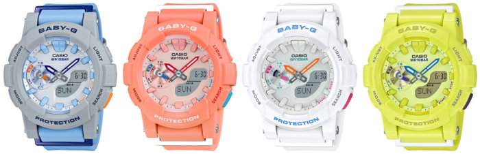 Casio Baby-G BGA-185 Series for Women Runners