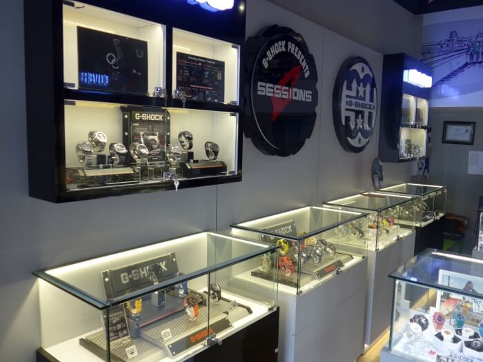 G-Cam G-Shock Store in Phnom Penh Cambodia