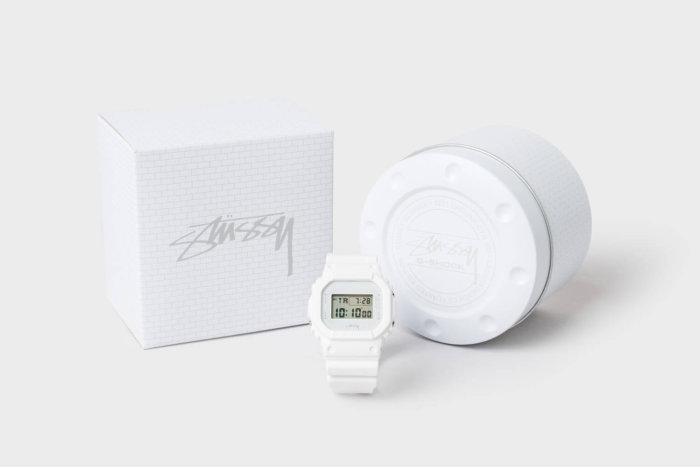 Stussy x G-Shock 2016 DW-5600 White Brick Watch