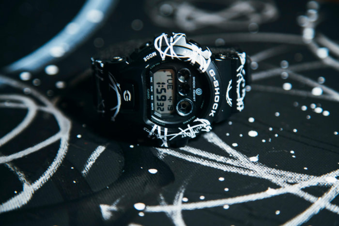 G-Shock x Futura GDX6900FTR-1 Atomic Pattern Watch