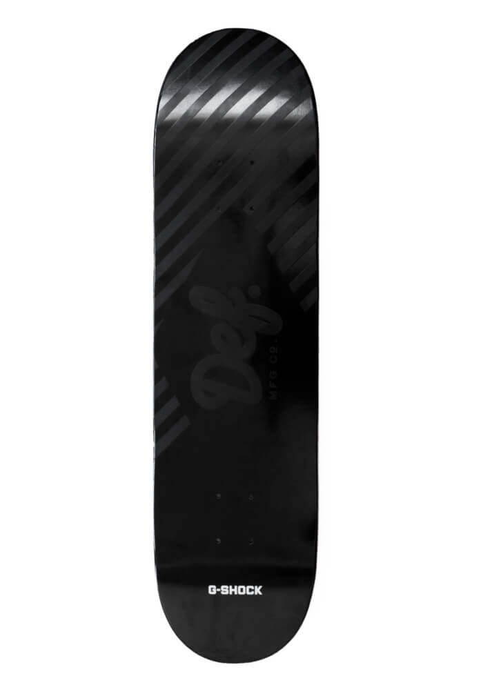 Def x G-Shock Stealth Mode Skateboard Deck