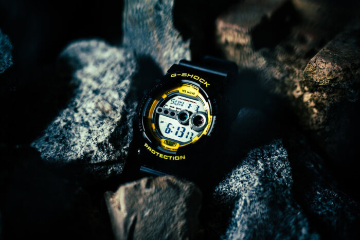 Darker Than Wax DTW x G-Shock GD-100 Watch