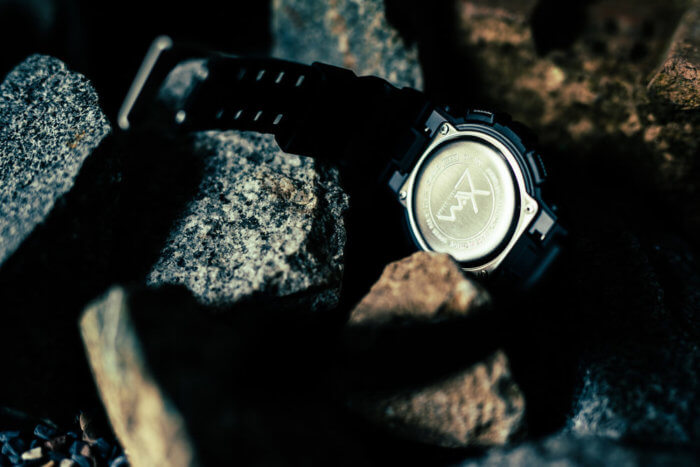 Darker Than Wax DTW x G-Shock GD-100 Case Back