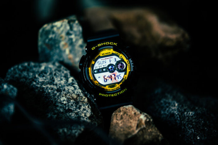 Darker Than Wax DTW x G-Shock GD-100 Backlight