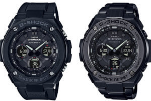 G-Shock G-STEEL GST-W100G-1BJF and GST-W110BD-1BJF