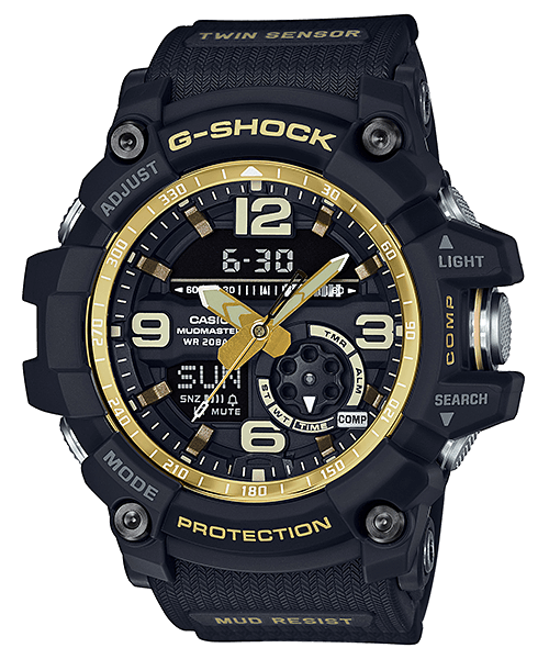 G-Shock Mudmaster GG-1000GB-1A Black and Gold