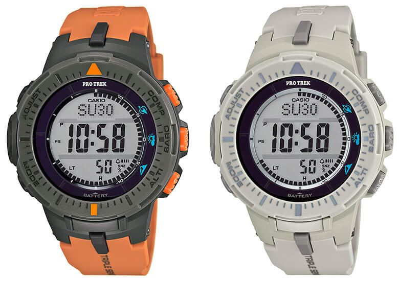 New Pro Trek USA Releases  PRG300-4 and PRG300-8 – G-Central G-Shock ... fe1d8cb81