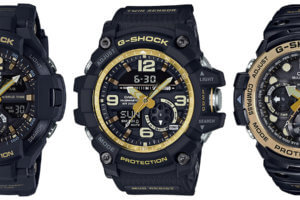 Black and Gold Master of G Twin Sensor Series