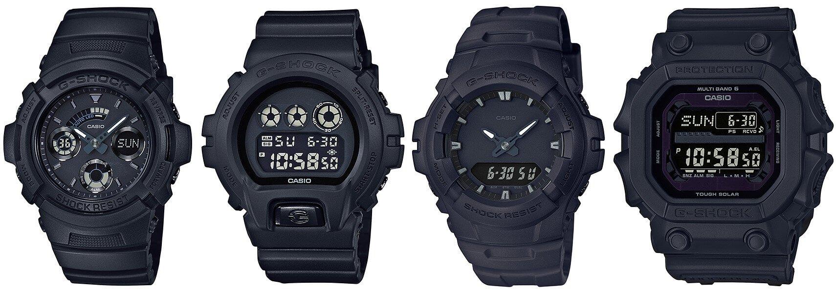 G-Shock Black Out Basic Series  GXW-56BB-1JF c25874fbb