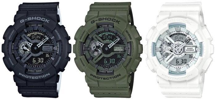 G-Shock GA-110LP-1AJF GA-110LP-3AJF GA-110LP-7AJF