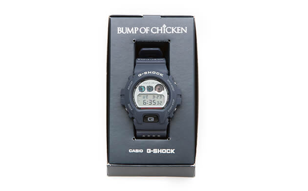 "Bump of Chicken x G-Shock DW-6900 Stadium Tour ""BFLY"" 2016 Watch and Box"