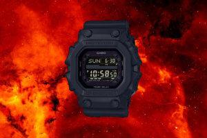G-Shock GX-56BB-1: GX-56 returns with stealth black 'King'
