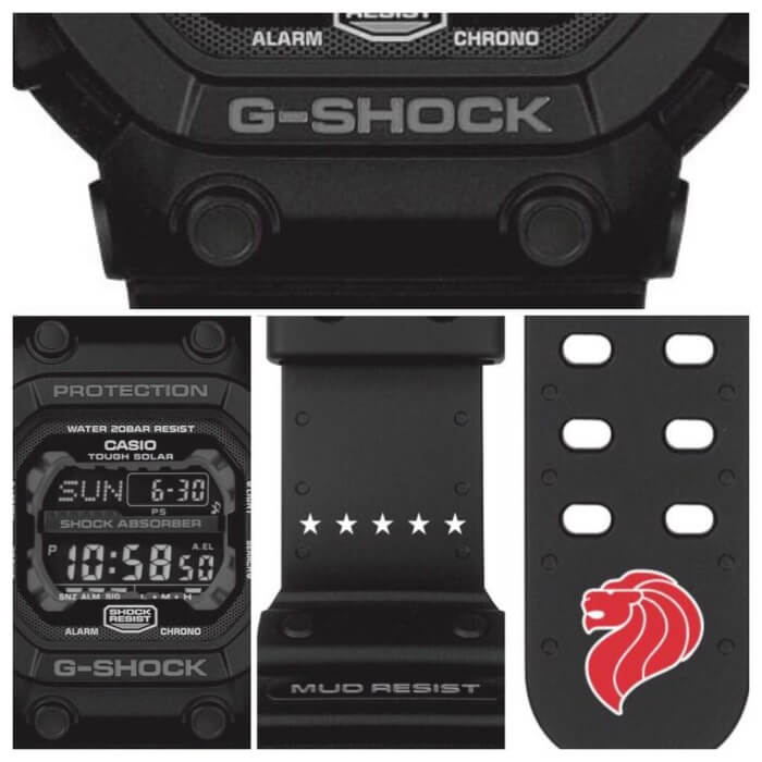 G-Shock x The Majulah GX-56BB Singapore Limited Edition