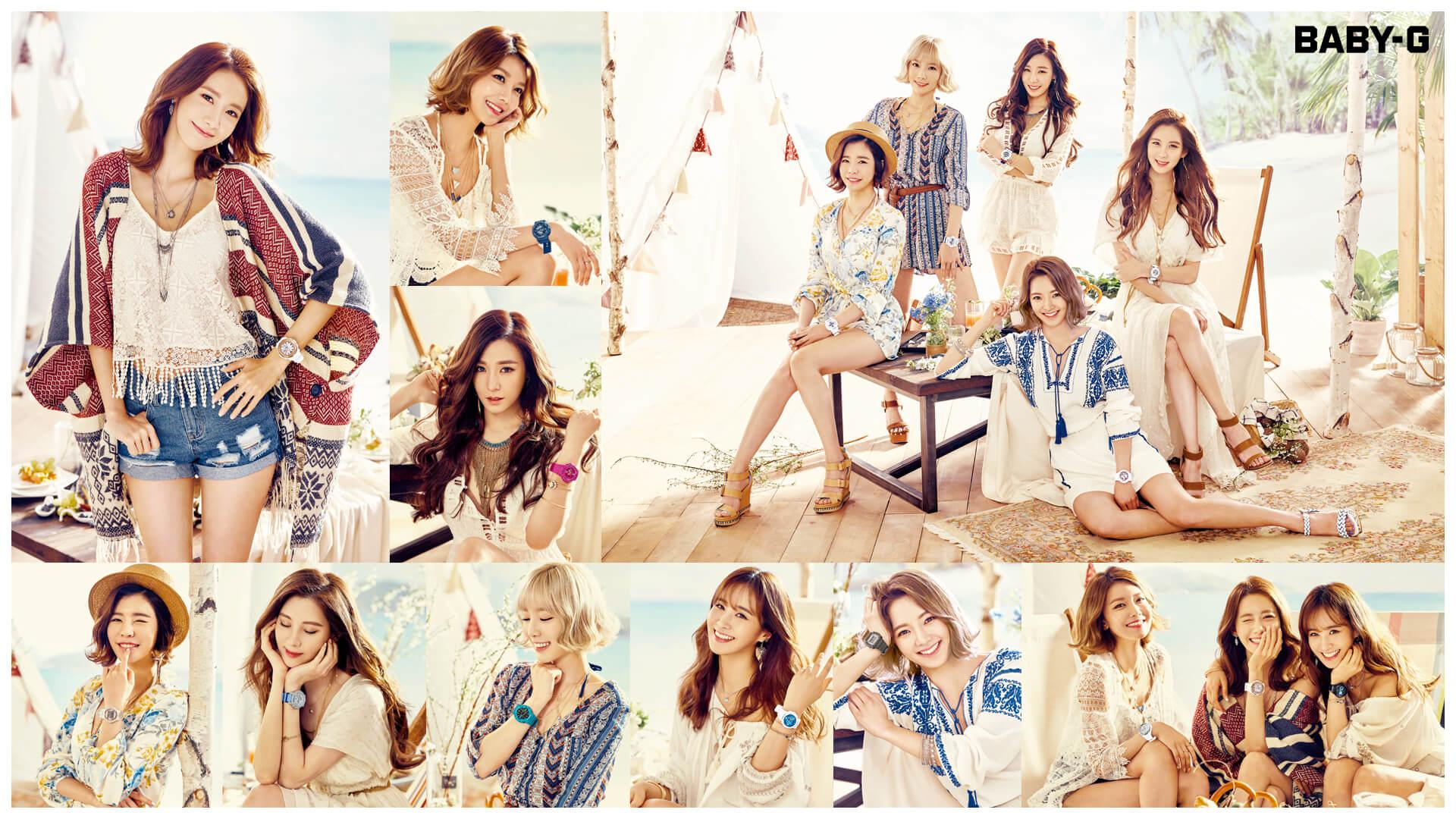 Girls Generation Baby G Summer 2016 Catalog Wallpapers G