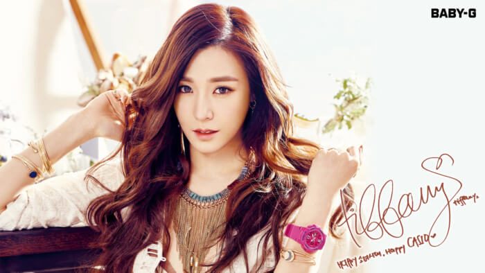 Girls Generation Casio Baby-G Summer 2016 Wallpaper Tiffany
