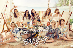 Girls Generation Casio Baby-G Summer 2016 Wallpaper