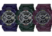 G-SHOCK Metallic Color S-Series GMA-S110MC-2A, GMA-S110MC-3A, GMA-S110MC-6A