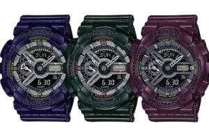 G-SHOCK Metallic Color S-Series GMA-S110MC-2A, GMA-S110MC-3A, GMA-S110MC-6A
