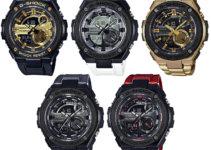 G-Shock G-STEEL GST-210B-1A9 GST-210B-7A GST-210GD-1A GST-210M-1A GST-210M-4A
