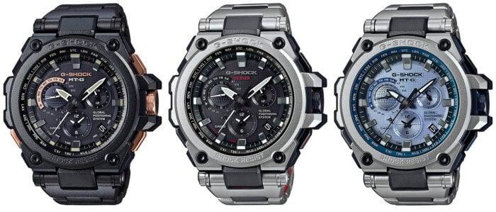 G-Shock MTG-G1000RB-1AJF MTG-G1000RS-1AJF MTG-G1000RS-2AJ
