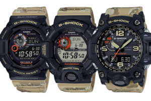 G-Shock Master In Desert Camouflage Master of G Collection