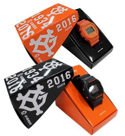 Yomiuri Giants x G-Shock DW-5600 1934 - 2016 Box Edition