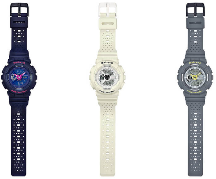 Casio Baby-G BA-110PP Punching Pattern Bands