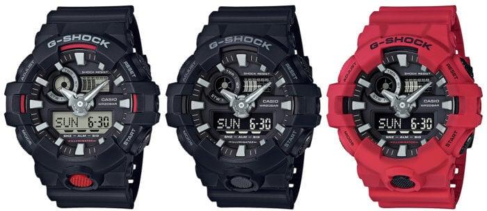 G-Shock GA-700 GA-700-1A GA-700-1B  GA-700-4A