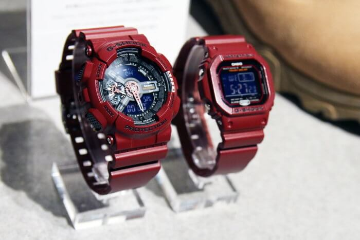 G-Shock Bordeaux Color Series GA-110EW-4AJF & GW-M5610EW-4JF