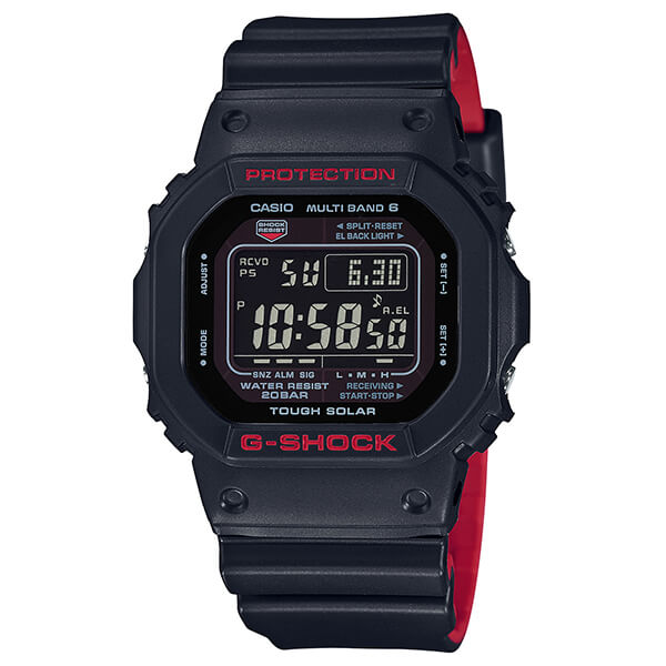 G-Shock GW-5000HR-1JF Black & Red Series
