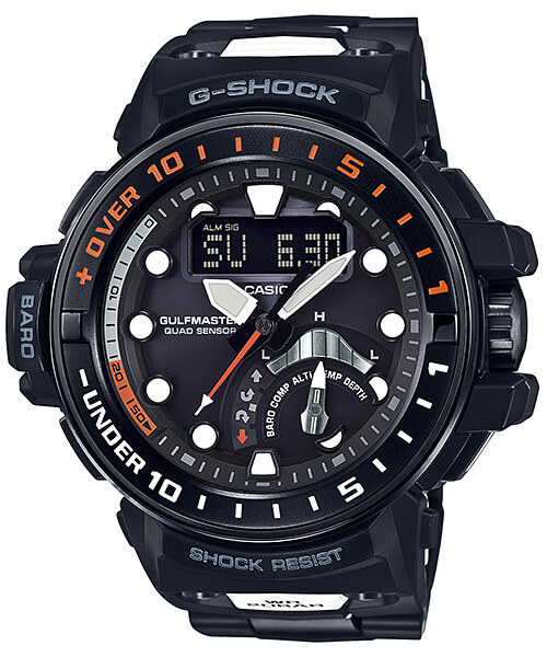 G-Shock Gulfmaster GWN-Q1000MC-1A with Adjustable Composite Band