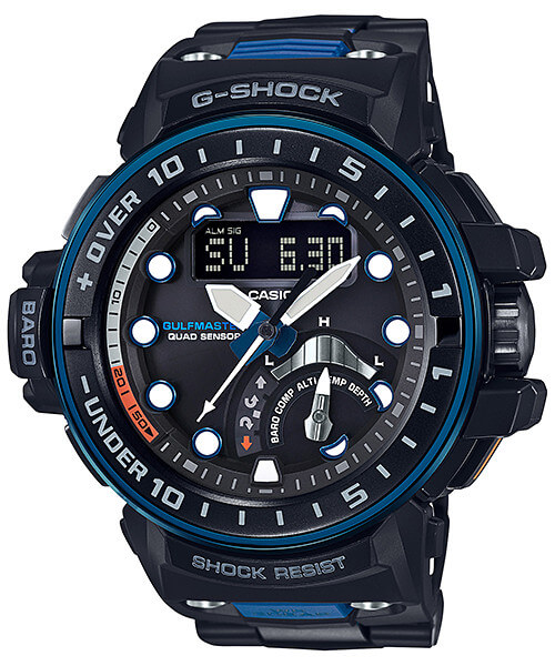 G-Shock Gulfmaster GWN-Q1000MC-1A2 with Adjustable Composite Band