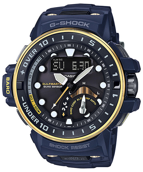 G-Shock GWN-Q1000NV-2A Gulfmaster Master in Navy Blue