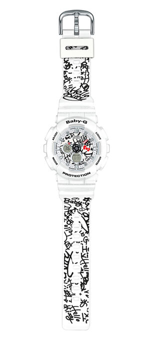 Hello Kitty x Baby-G BA-120KT-7A Watch