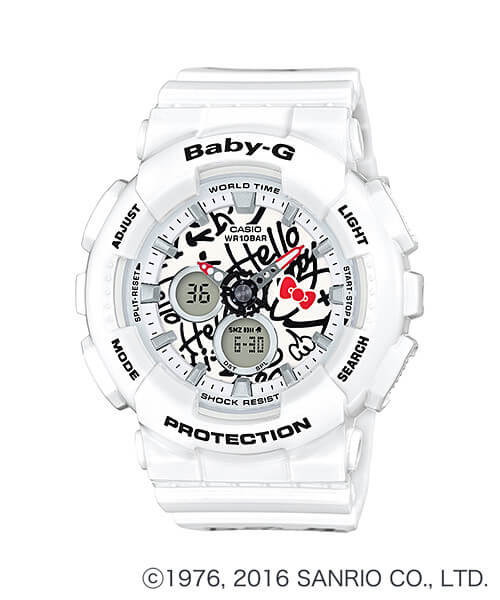 Hello Kitty x Casio Baby-G BA-120KT-7A Limited Edition Watch