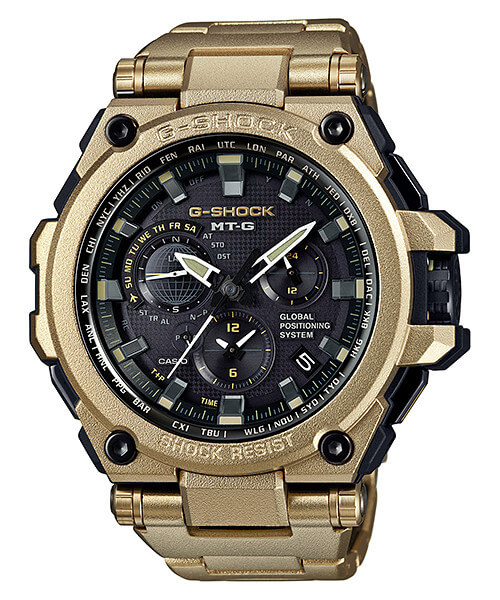G-Shock G-STEEL MTG-G1000RG-1A Gold Limited Edition