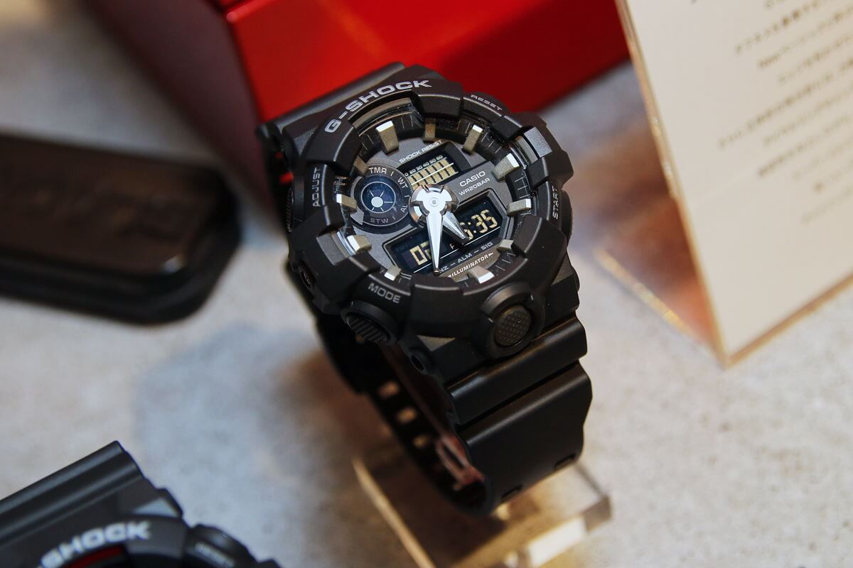 g shock ga 700 analog digital with front backlight button