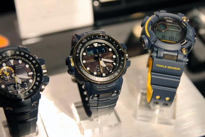 G-Shock Master in Navy Blue Gulfmaster GWN-Q1000NV-2AJF