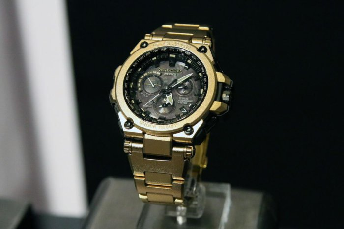 G-Shock MT-G MTG-G1000RG-1AJR Gold IP Limited Edition