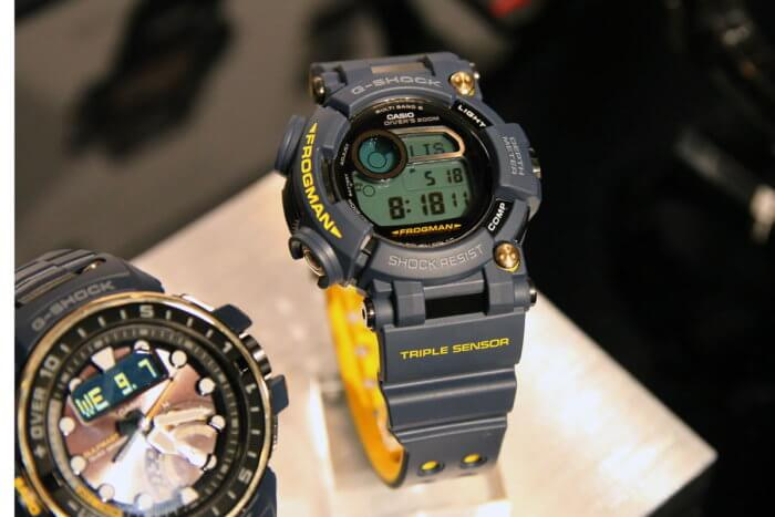 G-Shock Master in Navy Blue Frogman GWF-D1000NV-2JF